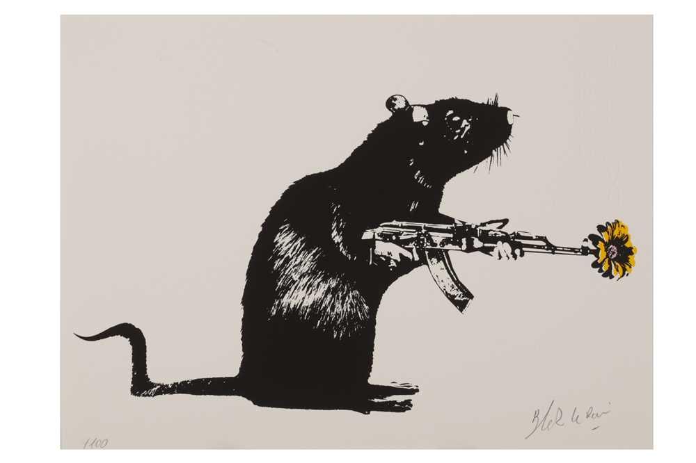 Lot 804 - BLEK LE RAT (FRENCH B. 1951)