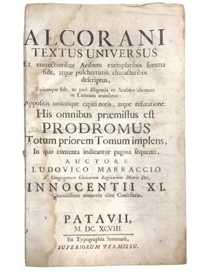 Lot 500 - Alcorani Textus Universus