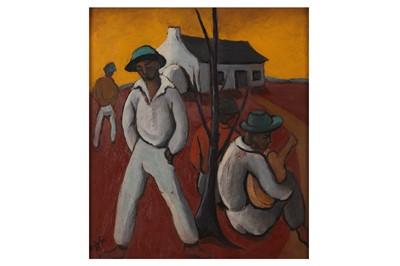 Lot 40 - JOHANNES PETRUS MEINTJES (SOUTH AFRICAN 1923-1980)