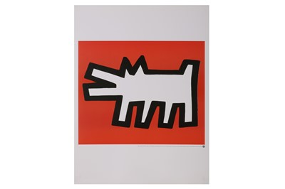 Lot 854 - KEITH HARING (AMERICAN 1958-1990)