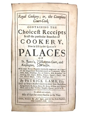 Lot 523 - Cookery.