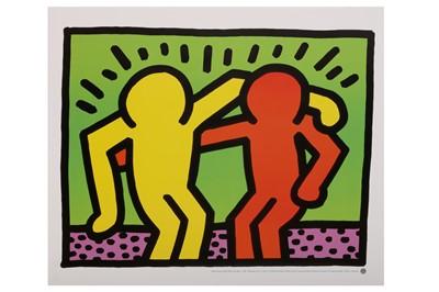 Lot 853 - KEITH HARING (AMERICAN 1958-1990)