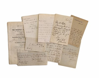 Lot 836 - Autograph Collection.- Lawyers and Judges