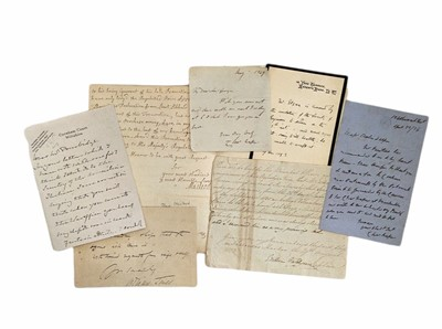 Lot 837 - Autograph Collection.- Military, Naval & Aviation