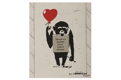Lot 861 - REAL NOT BANKSY FRONT