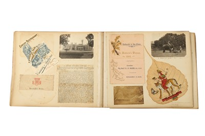 Lot 616 - A TRAVELLER'S SCRAPBOOK: THE JOURNEYS OF MRS GROOVES