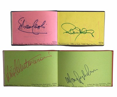 Lot 846 - Autograph Collection.- Opera & Ballet