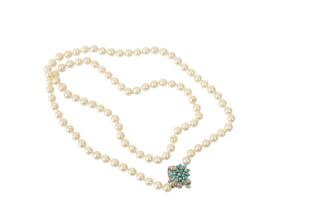 Lot 18 - A CULTURED PEARL NECKLACE
