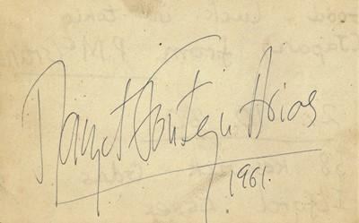 Lot 814 - Autograph Album.- Ballet