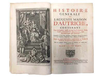 Lot 511 - Krafft: Histoire générale de l'Auguste Maison d'Autriche...