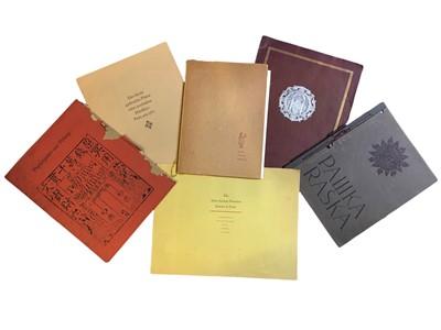 Lot 507 - Continental Literature: Facsimiles and bibliography