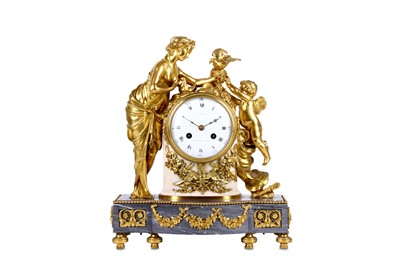 Lot 118 - A 19TH CENTURY FRENCH LOUIS XVI STYLE GILT...