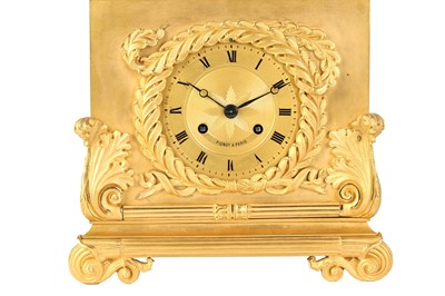 Lot 168 - A FINE EARLY 19TH CENTURY FRENCH GILT AND...