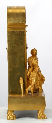 Lot 191 - A FINE EARLY 19TH CENTURY FRENCH EMPIRE PERIOD...