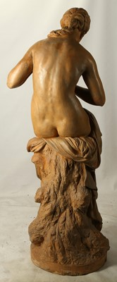 Lot 50 - A MID 19TH CENTURY FRENCH LIFE-SIZE TERRACOTTA...