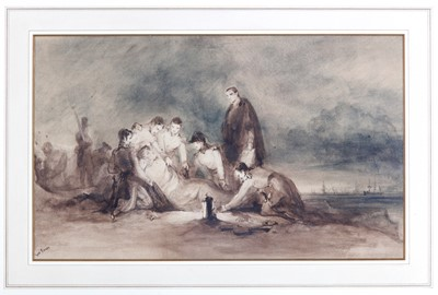 Lot 490 - GEORGE JONES RA (BRITISH 1786-1869)