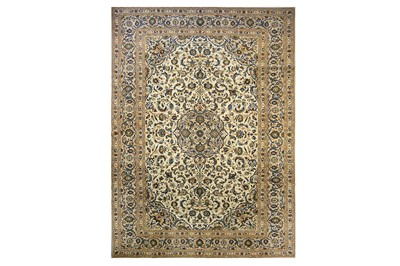 Lot 14-A FINE KASHAN CARPET, CENTRAL PERSIA  approx....