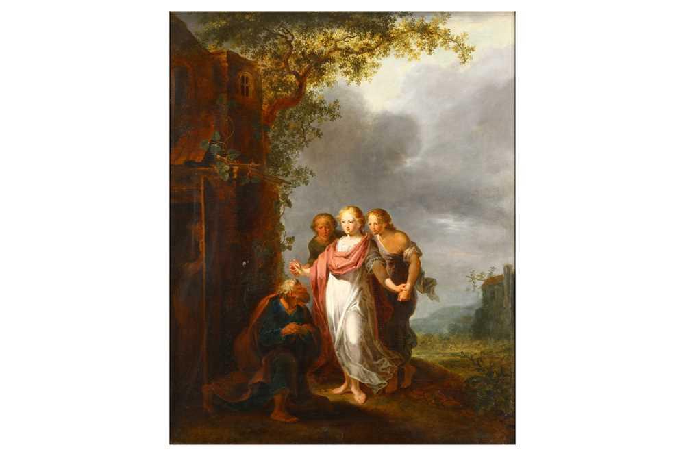 Lot 40-CIRCLE OF JOHANN HEINRICH TISCHBEIN THE ELDER (HAYNA 1722 - CASSEL 1789)
