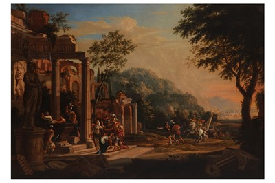 Lot 3-ATTRIBUTED TO JEAN-GEORGES BERDOT, CALLED 'LE MONTBELIARD' (MONTBELIARD 1614 - 1672, ACTIVE IN SENS)