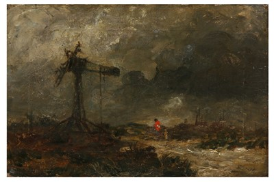 Lot 844-DAVID COX SNR. O.W.S. (BRITISH 1783 - 1859)