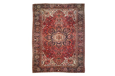 Lot 16-A FINE HERIZ CARPET, NORTH-WEST PERSIA approx:...