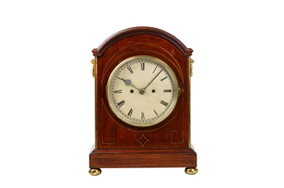 Lot 39 - A MID 19TH CENTURY MAHOGANY AND BRASS MOUNTED...
