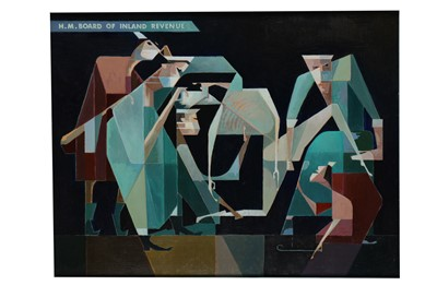 Lot 9-BERNARD ROBINSON (1912-1970)