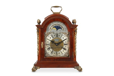 Lot 35 - A GEORGE III STYLE MAHOGANY AND BRASS MOUNTED...