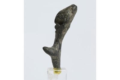 Lot 45 - A CANAANITE BONZE IDOL Circa 1st Century B.C....