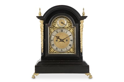 Lot 40 - A LATE 19TH CENTURY EBONISED AND GILT BRASS...