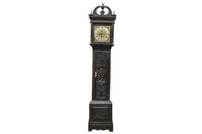 Lot 31 - AN EARLY 18TH CENTURY LONGCASE CLOCK MOVEMENT...