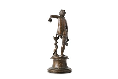 Lot 245 - AFTER THE ANTIQUE: A 19TH CENTURY BRONZE...