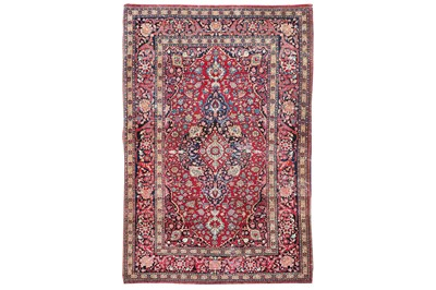 Lot 13-A VERY FINE ISFAHAN RUG, CENTRL PERSIA  approx:...