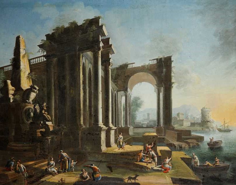 Old Masters, Architectural Landscape