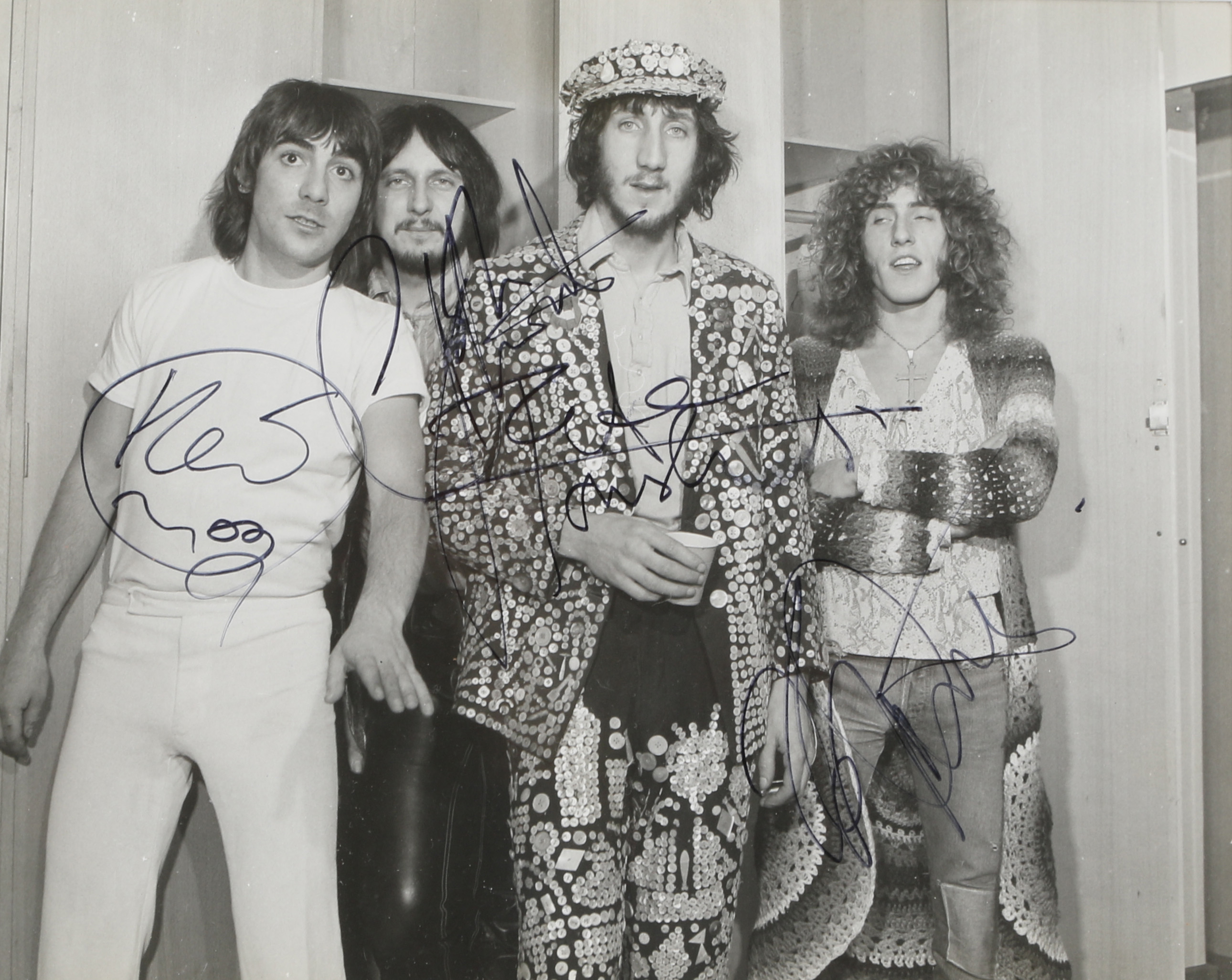 Signed Photo of the Who