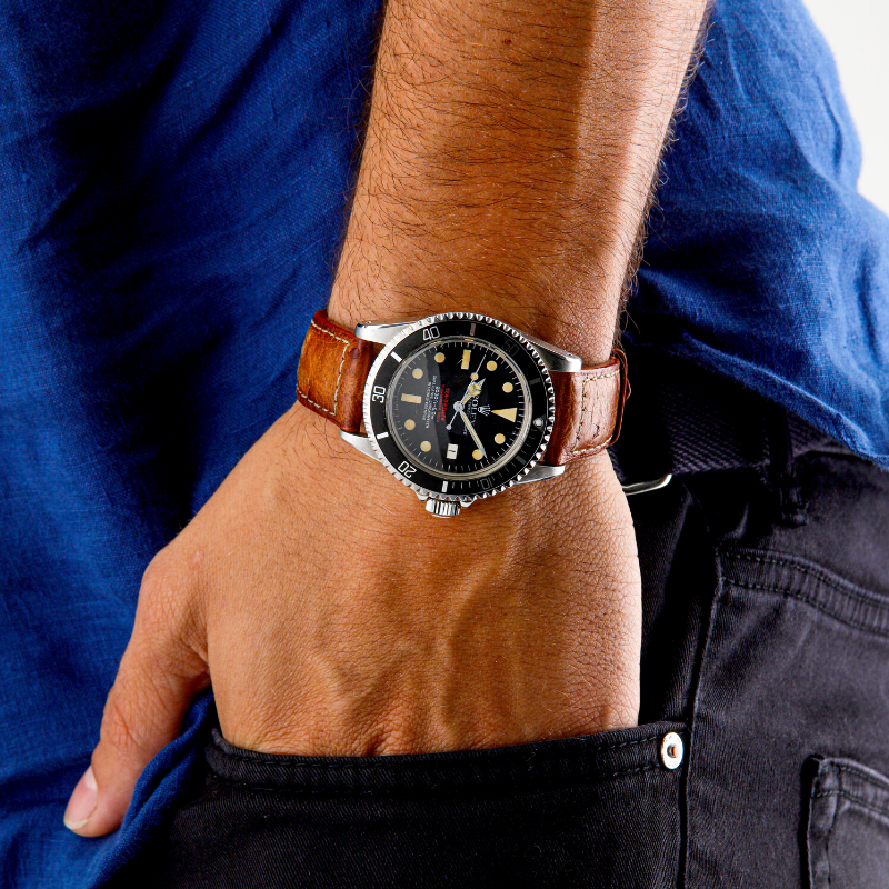 Wrist strap watch